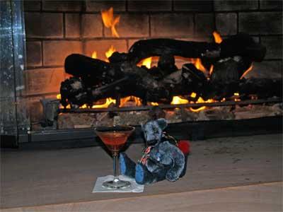 Fireside drink