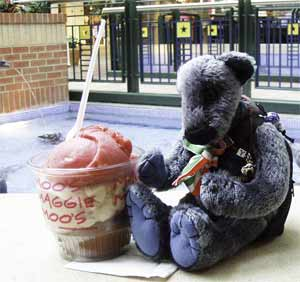 Wilbeary with ice cream