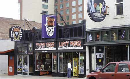Voodo shop on Beale St.