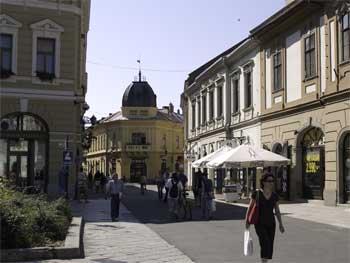 Street in Eger