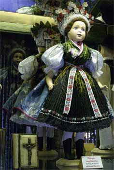 Doll in Holloko museum