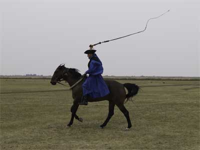 Puszta horseman