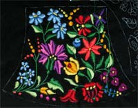 handbag embroidery