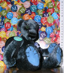 Wilbeary with Met badge